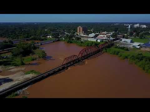 FBC Drone Footage: Brazos River at Richmond (1)