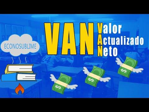 5. EL VALOR ACTUALIZADO NETO (VAN)