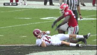 Jake Coker - Alabama @ Georgia, 2015