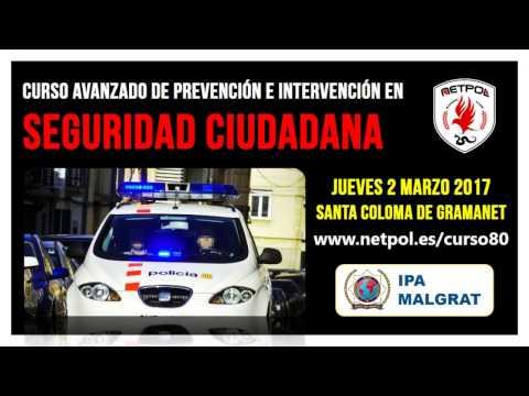 Curso Seguridad Ciudadana en Santa Coloma de Gramanet