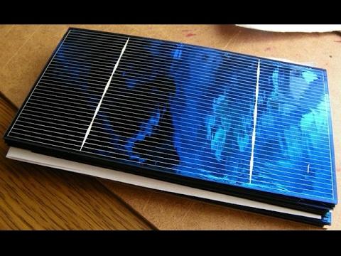 Солнечная батарея своими руками видео в домашних условиях