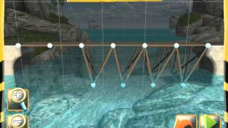 Bridge Constructor - Westlands - Bridge 5 - Walkthrough