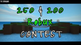 Roblox - Art/Video Contest 250/200 Robux (Closed)