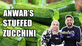 How To Make Stuffed Zucchini   Anwar Jibawi