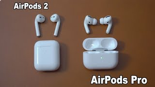 Apple Airpods PRO vs. Airpods 2 - Jeden Cent wert!