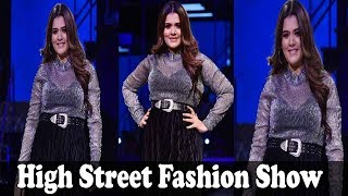 Gorgeous Shikha Talsania Ramp Walk | High Street Fashion Show