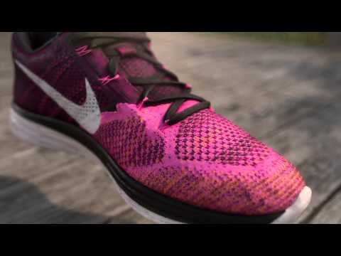 54a03696638 Nike Flyknit Lunar 3 Youtube
