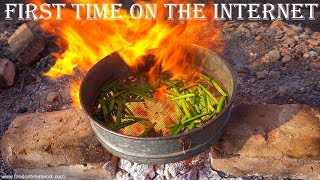 Amazing Indian Lunch Cooking in a Village | Just Wow for this Method and Taste