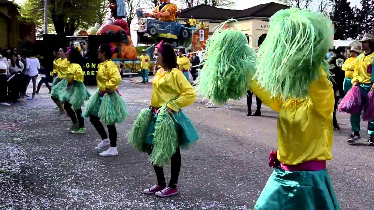 El Cagnà Roverchiaretta Carnevale a Fagnano di
