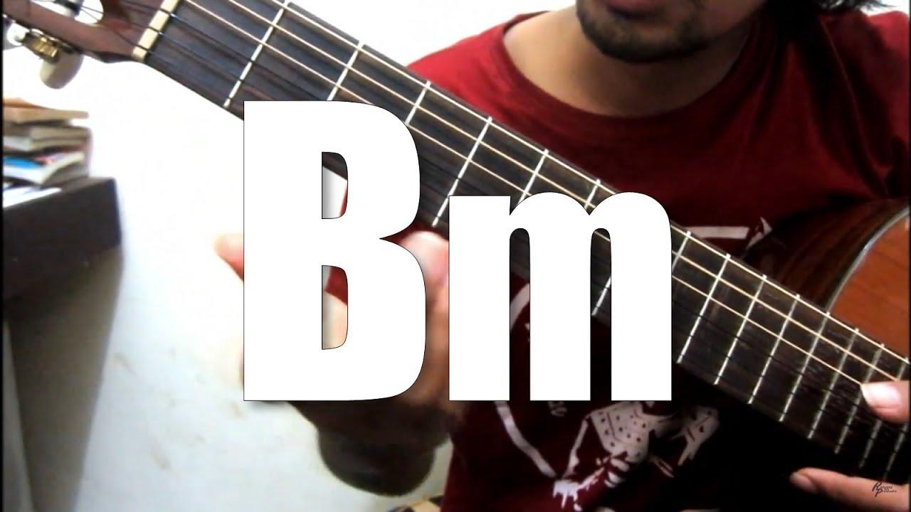 chord bm belajar kunci gitar youtube. Black Bedroom Furniture Sets. Home Design Ideas
