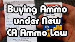 My Experience Buying Ammo under the new California Ammo Law of 2019 : Eye-On-Stuff