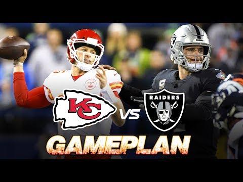Chasing #1 Seed!  Patrick Mahomes and Travis Kelce lead Kansas City Chiefs Gameplan vs Raiders | NFL