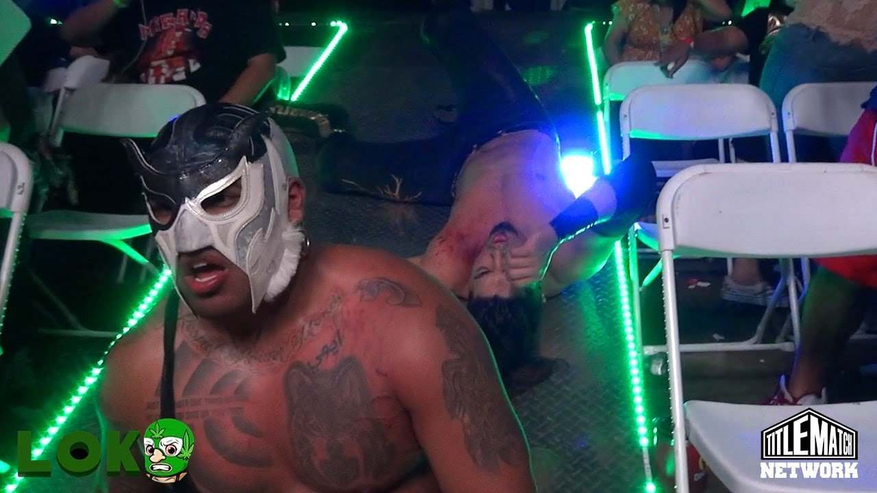 Gino Medina vs El Hijo De Canis Lupus (Loko Wrestling) Houston, TX - Title Match Network