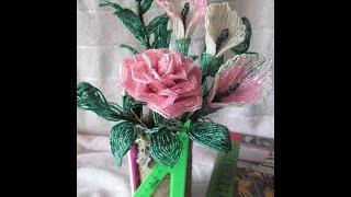 Композиция цветов  для Учителя Урок №3