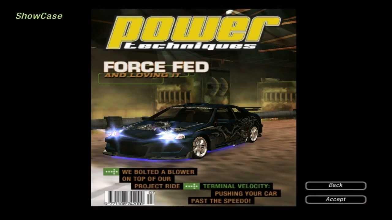 Need For Speed Underground 2 Magazine Cover 19 Power