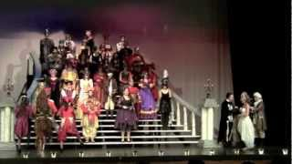 "THE PHANTOM OF THE OPERA, ""Masquerade"" & ""Why So Silent,"" A High School Stage Production"