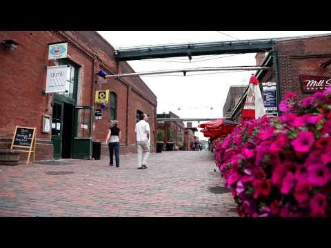 New Life In Old Buildings: Distillery District, Toronto - Ontario, Canada