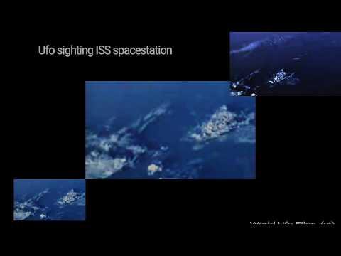 Biggest UFO videoNASA cuts live feed  International Space Station ISS sighting