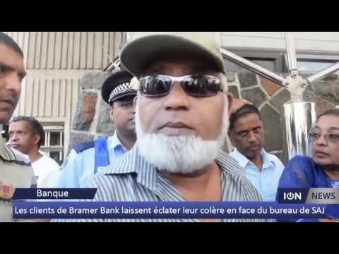 [Affaire BAI] Les clients de Bramer Bank laissent éclater leur colère en face du bureau de SAJ