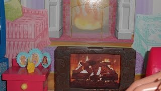 Diy Simple Fireplace For Barbie Size Dollhouse!