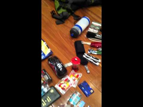 Bug Out Bag Berkeley style