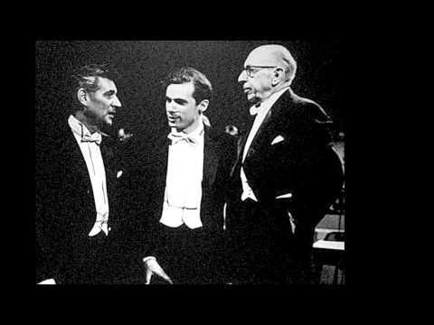 Igor Stravinsky, Violin Concerto Mvt #4, Jason DePue, violin