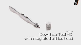 Video: Unifiber Downhaul Tool HD With Stainless Steel Integr. Philips Head