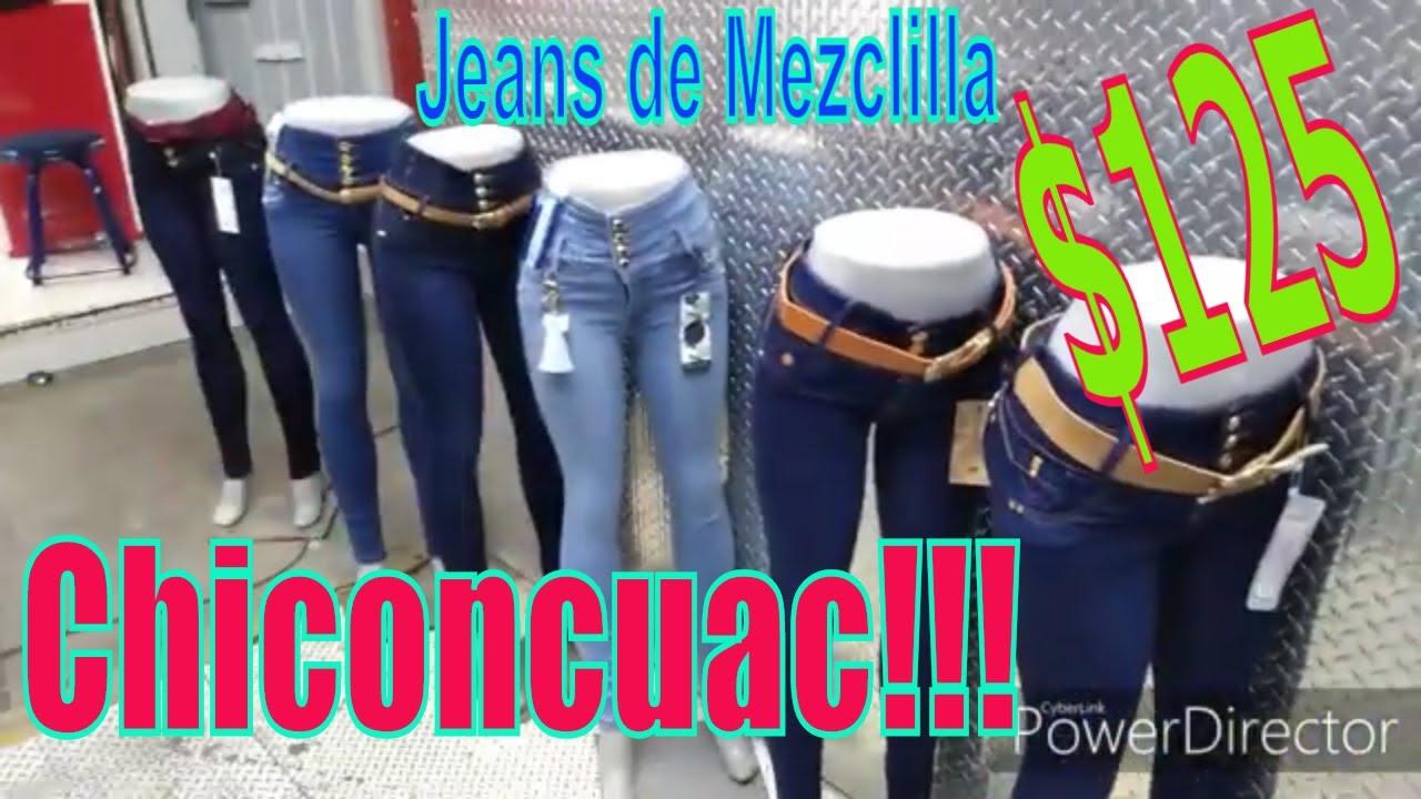 Chiconcuac Pantalones De Mezclilla 125 De Mayoreo Youtube