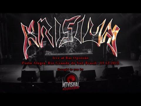 KRISIUN - Live at Bar Opinião - Porto Alegre [2012] [FULL SET]