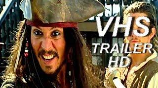 Пираты Карибского Моря: Проклятие Черной Жемчужины (2003) - русский трейлер - VHSник