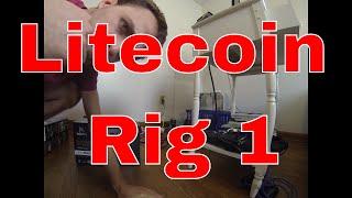 PT 2 Litecoin November 21st, 2013 Virgina Beach VA, Bitcoin $360 per coin