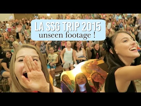 MY FIRST SSG LA TRIP & MEET AND GREET 2015 - UNSEEN FOOTAGE/ BEHIND THE SCENES!