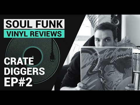 Crate Diggers Ep#2 - Soul Funk Disco | Vinyl Record Collection [French Sub]