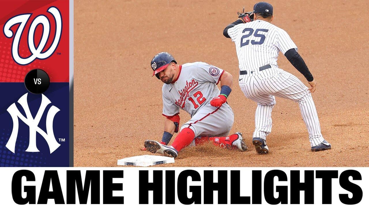 Nationals vs. Yankees Game Highlights (5/8/21)   MLB Highlights