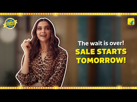 The wait to shop is over! #TheBigBillionDays starts tomorrow!