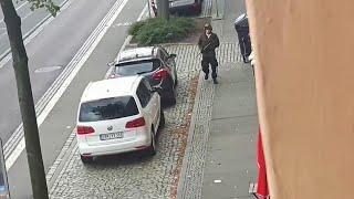 Germania, sparatoria ad Halle: l'assalitore ripreso in volto in un video amatoriale