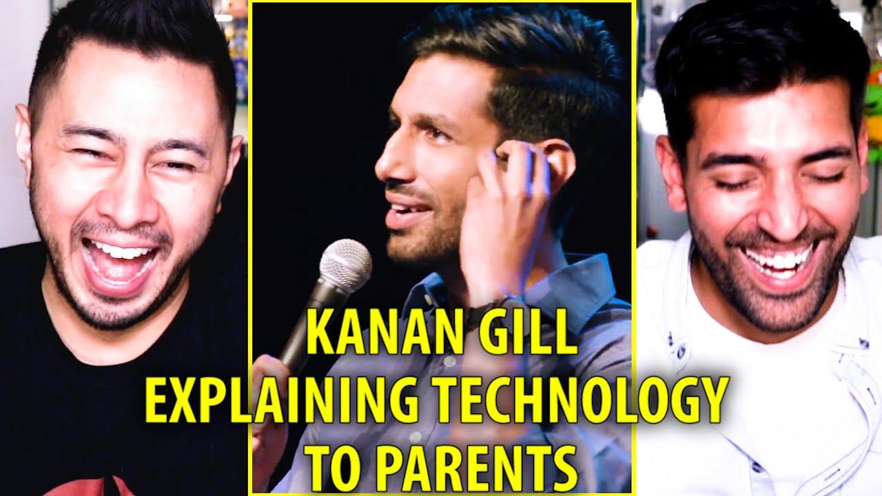 KANAN GILL - EXPLAINING TECHNOLOGY TO PARENTS - KEEP IT REAL | Reaction | Jaby Koay