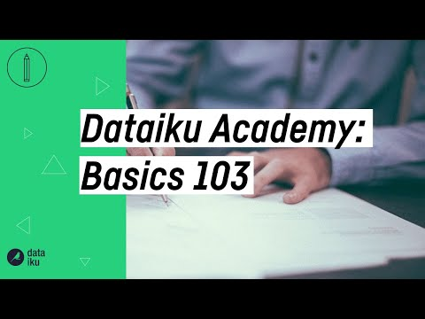 How-To: Use the Dataiku Join Recipe to Join Datasets