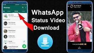 How To Download Whatsapp Status Photo & Video    Vidmate App Tricks    Tech i3