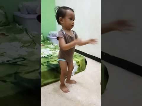 Baby boy dance Chicken kuk doo koo