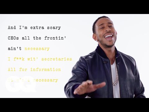 Ludacris Breaks Down His 9 Favorite Rap Lyrics of All Time | GQ
