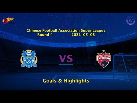 Guangzhou R&F Shenzhen Goals And Highlights