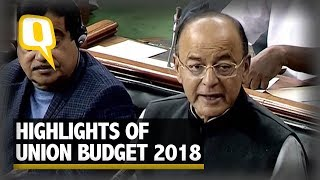 Union Budget 2018: Key Highlights at a Glance | The Quint