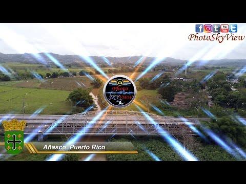 Añasco, Puerto Rico from Phantom 4 Pro