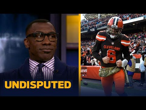 Skip and Shannon discuss Baker Mayfield's credit for the Browns' win vs Falcons | NFL | UNDISPUTED