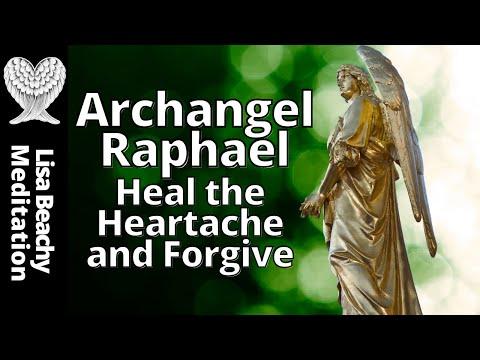 Archangel Raphael Meditation 💚  Heal the Heartache and Forgive