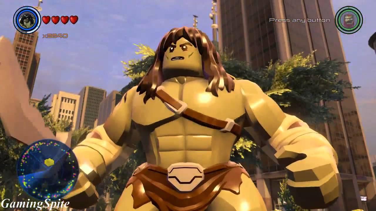 Lego Marvel's Avengers - How To Unlock Skaar Character ...