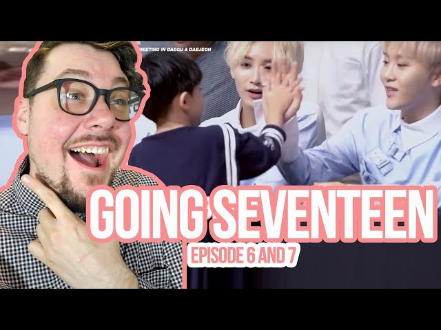 Mikey Reacts to GOING SEVENTEEN - Episode 6 and 7