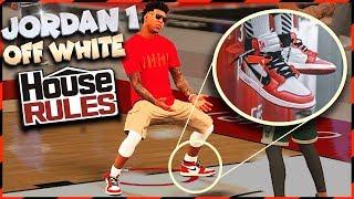 DID I GET POSTERIZED? / Ballin in Jordan 1 Off Whites? - NBA 2K18 3v3 Playground