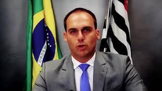 BOLSONARO QUER IMPLANTAÇÃO DO CHIP PARA CRIMINOSOS DIZ EDUARDO BOLSONARO